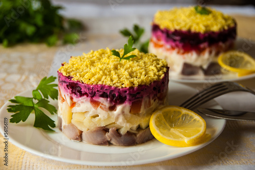 herring under a fur coat