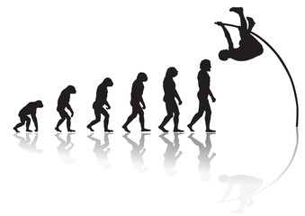 Evolution pole jump