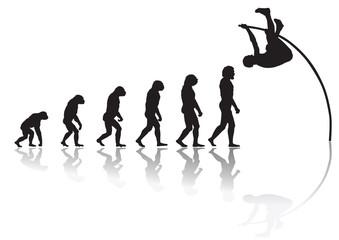 Evolution pole jump