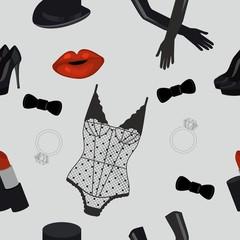Cabaret endless pattern