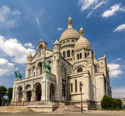 The Basilica of the Sacred Heart of Paris - France