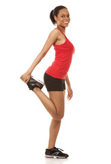 pretty fitness woman