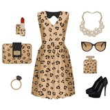 Leopard fashion look