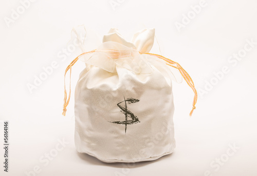 Money bag - bag Wedding