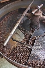 antica macchina per tostare il caffè