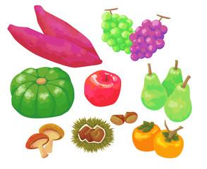 秋の食べ物