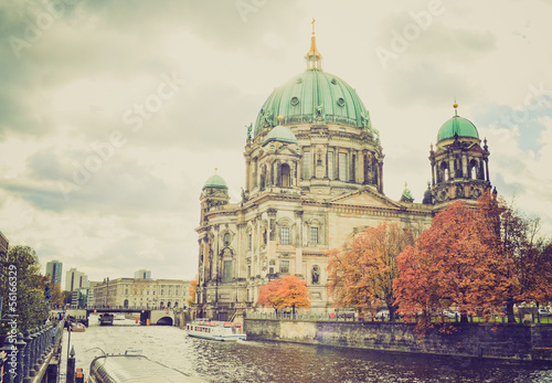Berliner Dom retro look