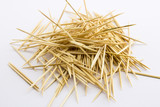 Close-up of toothpicks