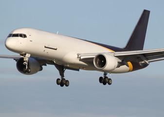 freighter plane landing