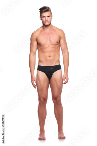 man in his underware