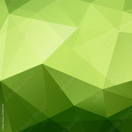 Sticker Abstract Green Background
