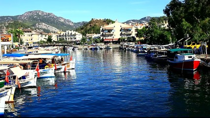 marmaris harbour turkey