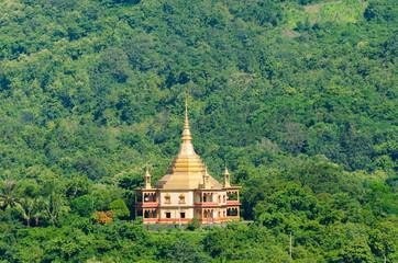 Phra That Khong Santi Chedi pagoda, Luang Pra Bang, Laos