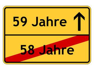 59. Geburtstag