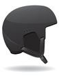 helmet for snowboarding vector illustration