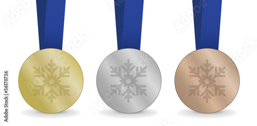 Medals for Winter Games