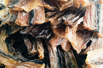 Dried shark fish, Photo captured with an iPhone