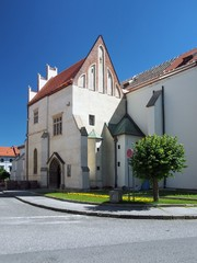 Entance to church of St. James in Levoca