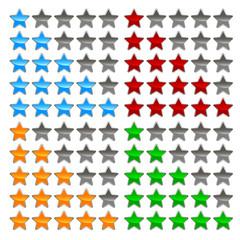 Star levels set
