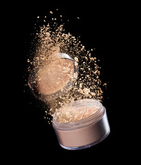 make-up powder