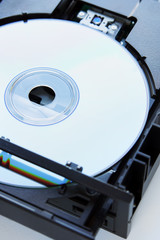 Disc inserted into dvd-drive