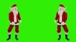 Santa Claus Dancing isolated, Dance 7, Green Screen