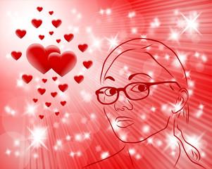 kobieta i serca 2