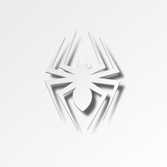 White Spider Icon