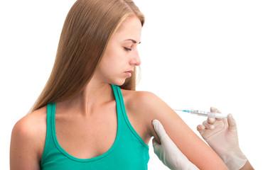 Vaccination shot