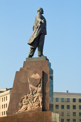 Statue of Lenin in Kharkov