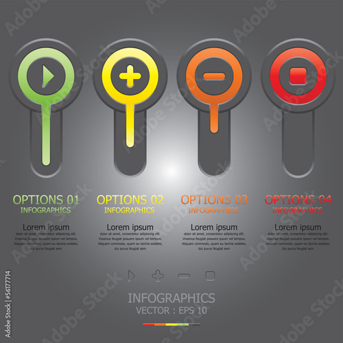 Modern Circle Infographic Design Template