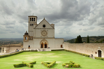 Basilica di san Francesco,Assisi,