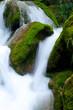 Waterfall close up.