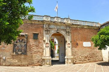 Casa de Pilatos Palace in Seville, Spain