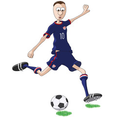 calciatore Stati Uniti