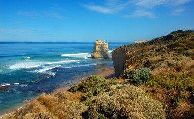 Gibson Steps, Great Ocean Road, Australia.