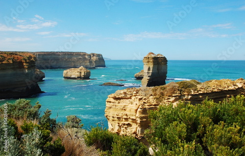 Lorch Ard Gorge, Great Ocean Road, Australia.