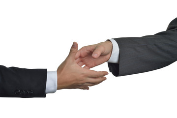 hands closing a deal
