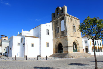 Se church in Faro, Algarve, Portugal