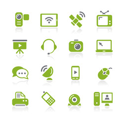 Communication Icons -- Natura Series