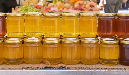 Jars of honey - Vasetti di miele