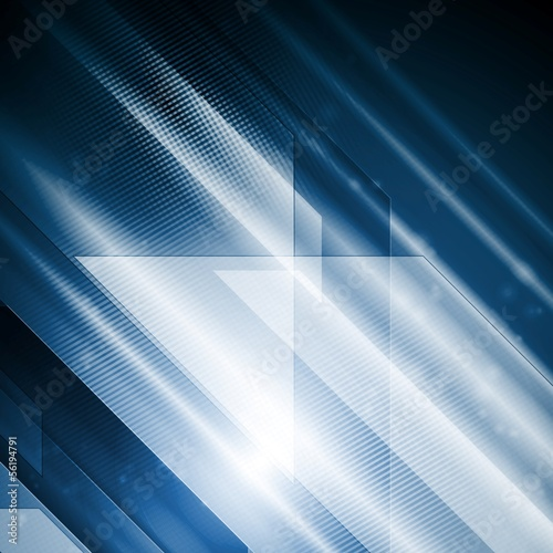 Bright hi-tech abstract vector illustration