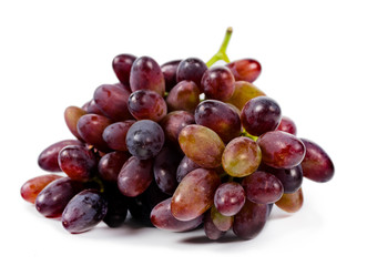 Sweet tasty red grapes
