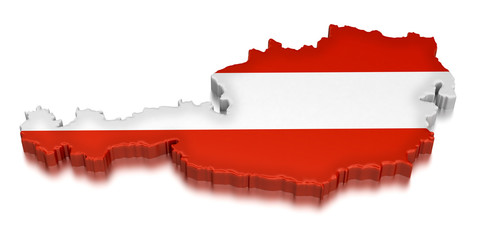 Austria  (clipping path included)