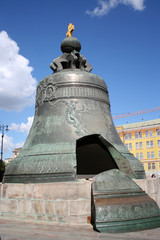Tsar (king) Bell is the largest in the world, Moscow Kremlin, Ru