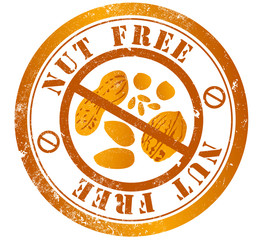 nut free stamp