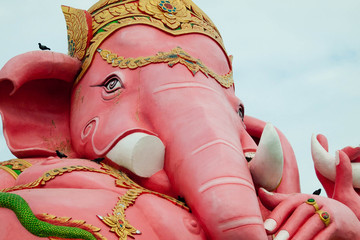 Close up Ganesha