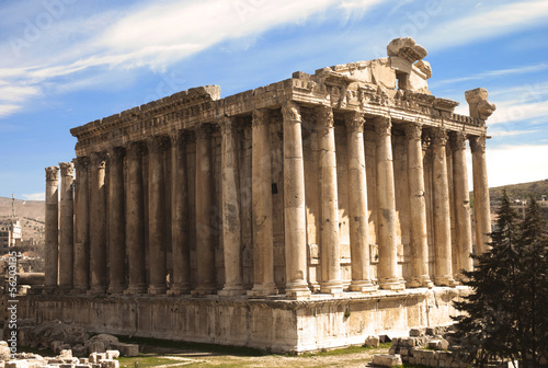 Temple of Bacus in Baalbek, Lebanon