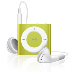 Lecteur MP3 audio jaune
