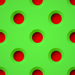 Green seamless  plastic texture